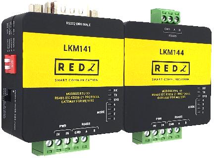 LKM Series MODBUS RTU to IEC62056-21 Meter Gateway
